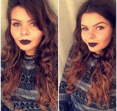 #crazy#dark#lips#nyx#transylvania