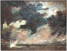 "Skot Foreman Gallery Macuria (Merc) Montolanez ""Marine Nightscape I"" 2000 Encaustic on board 14 x 16 in 36 x 40 cm Hand-signed ""Merc"" lower right corner Fine Art Gallery, Contemporary Paintings, Surrealism, Pop Art, Street Art, Abstract Art, Around The Worlds, Artwork, Artist"