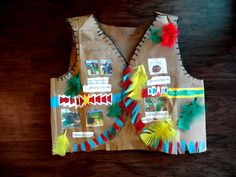 for all grade students , You will enjoy and learn from this video how to make a Native American Vest from grocery paper bag in very easy and fast way ,yo. Thanksgiving Preschool, Thanksgiving Ideas, Hat Crafts, Decor Crafts, Fall Crafts For Kids, Kids Crafts, School Projects, Projects For Kids, November Crafts