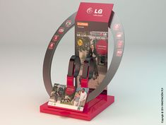 Expositor Lifeband LG | INNOVACION PLV Lg Display, Shop Display Stands, Counter Display, Display Design, Product Display, Exhibition Stall, Exhibition Stand Design, Pos Design, Retail Design