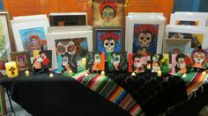 Display of new works by John S. Huerta Arte Studio at the Museum's Day of the Dead party on Oct. 25, 2013.