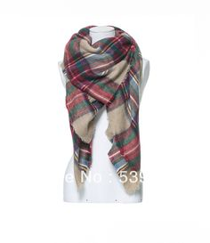 za winter 2014 scarf plaid new designer unisex acrylic basic wrap shawl women female Spring fall Cashmere Christmas gift Factory-inScarves f...