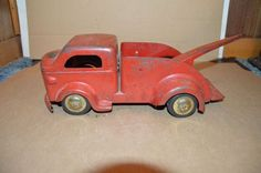 VINTAGE PRESSED STEEL RICHMOND TOYS SCALE MODEL DUALLY TOW SERVICE TRUCK in  Toys & Hobbies, Diecast & Toy Vehicles, Cars, Trucks & Vans   eBay   46    Pinterest…