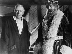 Alastair Sim's magnificent portrayal of Ebenezer Scrooge in the Charles Dickens classic A CHRISTMAS CAROL ('51) -  I used to stay up late Christmas Eve and watch this with Mum