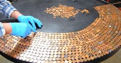 This incredible Do It Yourself project is so unique and interesting to watch that it will inspire just about anyone to go to the bank and change out a bunch of cash in order to get rolls and rolls of fresh pennies! At first it seems like this creative crew are just revamping an old... View Article