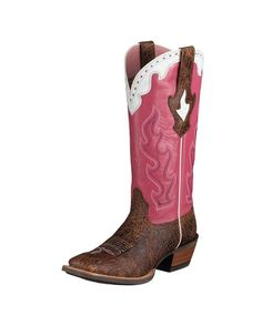 Women's Crossfire Caliente Boot - Adobe Clay/Crazy Horse Pink
