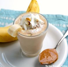 Peanut Butter Banana Smoothie Recipe - RecipeChart.com