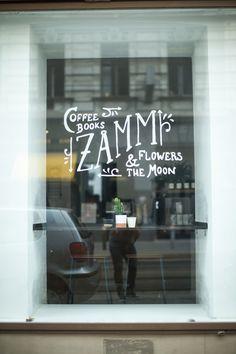 ZAMM Shop Vienna, Typography Vienna Restaurant, Hotels, Coffee Shop, Typography, Neon Signs, Restaurants, Concept, Shopping, Travel