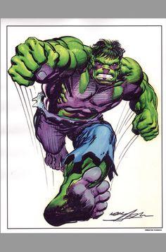 Neal Adams Art | incredible-hulk-signed-autograph-neal-adams-art-print-signature-1