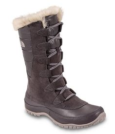 Women's Nuptse Fur Boots - $130 - 200g insulated, waterproof