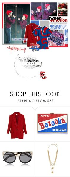"""""""Give me XOXO"""" by bibibaubau ❤ liked on Polyvore featuring Étoile Isabel Marant, Anya Hindmarch, Erdem, Vince Camuto, TIBI, EXO, chanyeol, xiumin and EXOseries"""