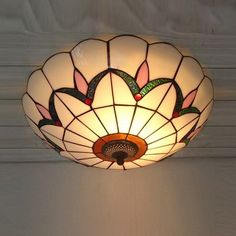 tiffany art glass bedroom ceiling lamp,living room european ceiling lamp kitchen ceiling lamp.