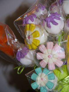 Tinkerbell Themed Cake Pops