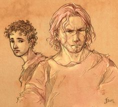 Dustfinger and Farid by =Gold-Seven