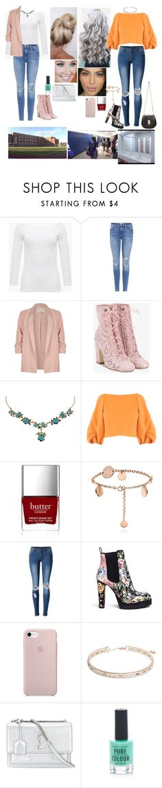"""""""S05 E05 """"Dreams do speak"""""""" by adeline-allena ❤ liked on Polyvore featuring Frame, River Island, Laurence Dacade, Michal Negrin, TIBI, Butter London, WithChic, Alexander McQueen, Anne Klein and Yves Saint Laurent"""