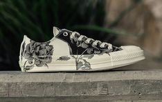 96908b0526d Converse Chuck Taylor All Star 70 Low Black Egret Floral june 2018 release  date info drop sneakers shoes footwear