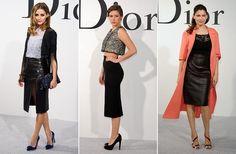 faldas lápiz Dior