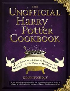 The Unofficial Harry Potter Cookbook. Need to get this!