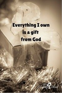Everything I own. Have you thought about everything you own as God's on loan to you? This post has 4 scripture to guide you when you question what is yours. Walk By Faith, Faith In God, Christian Life, Christian Quotes, Everything I Own, Spiritual Inspiration, Christian Inspiration, Inspirational Thoughts, Way Of Life