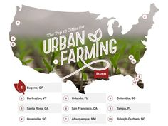 Top 10 US cities for urban farming