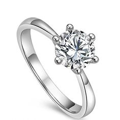 Bamos Jewerly Womens Promise 925 Sterling Silver Ring... - #EngagementRings  (source: jewelrysight.com)