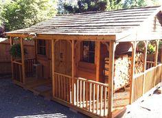 Farm House Cedar Shed Kit