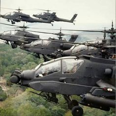A flock of Apaches