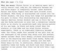 Steve Rogers and Bucky Barnes/Stucky