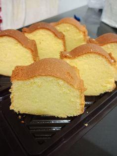 Cake Warisan Emak Empat Bahan by Christina Brownie Recipes, Cake Recipes, Dessert Recipes, Desserts, Marmer Cake, Bolu Cake, Resep Cake, Steamed Cake, Shortcake Recipe