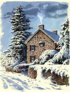 Country Christmas by Richard Bollinger