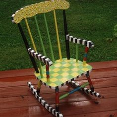 ... Painting Ideas on Pinterest  Funky furniture, Hand painted furniture