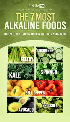 The 7 most alkaline foods                                                                                                                                                                                 More