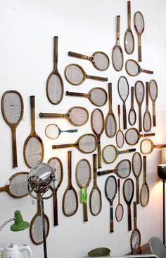 Game, Set & Match – Amazing Wimbledon Inspired Home Ideas Wimbledon, Tennis Party, Lawn Tennis, Sport Tennis, Tennis Clubs, Tennis Racket, Tennis Decorations, Tennis Crafts, Tennis Lessons