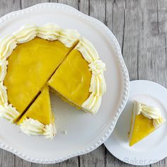 The Best Lemon Cheesecake. Ever. - The Unlikely Baker