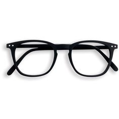 Black square frame reading glasses ($38) ❤ liked on Polyvore featuring accessories, eyewear, eyeglasses, glasses, sunglasses, acc, accessories - glasses, square frame glasses, matte glasses and reading glasses