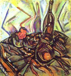 "Joan Miro - ""Still Life with Rose"". 1916"