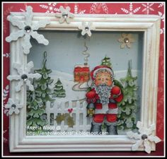 christmas shadow box | Magnolia Christmas Shadow Box | Christmas