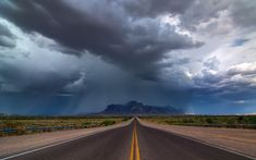 Monsoon Over The Superstitions Lightning Strikes, Funny Facts, Monsoon, Mother Nature, Phoenix, Arizona, Country Roads, Weather, The Incredibles