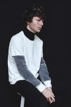 Samuel photographed by Tony Ottosson and styled with pieces from The Kooples, Gina Tricot,...