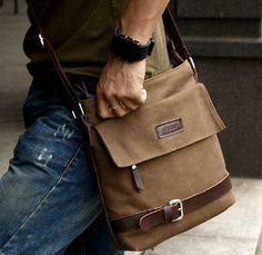 CaseCrown Vertical Mobile Messenger Bag (Brown) for iPad 4th ...