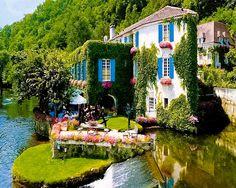 LeMoulin de l'Abbaye Hotel,Brantome,France