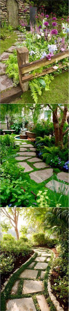 25 Stunning Garden Paths @styleestate
