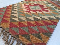 Afghan Kilim Rug Runner Jute Wool Cotton Style AFGAN 2x3' 3x5' 2x6'. Shop the extensive range of affordable Kilim Rugs. Exclusive Collection.