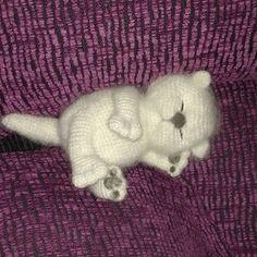 Crochet Cat Toys, Crochet Cat Pattern, Crochet Amigurumi Free Patterns, Crochet Animal Patterns, Stuffed Animal Patterns, Cute Crochet, Crochet Animals, Crochet Dolls, Knit Crochet