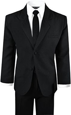 Black Suit With TIE for Boys of all ages. (Small 3-6 Months) Black n Bianco http://www.amazon.com/dp/B00DH9QFEQ/ref=cm_sw_r_pi_dp_lrh0wb0BGCYY9