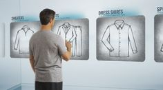 J. Hilburn: The Future of Your Closet by LaunchSquad Video , via Behance