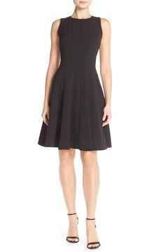 Chetta B Sleeveless Fit & Flare Dress