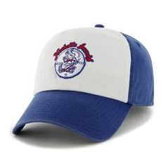 Royal freshman adjustable hat with old slugger logo Minor League Baseball f3a84932f
