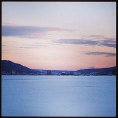 諏訪湖 in 長野県