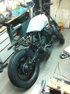 "Moto Guzzi V65 ""The Weed"" . Work in progress"
